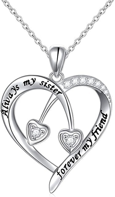 Valentine's Day Necklaces Daochong Sisters Heart Pendant Necklace 1