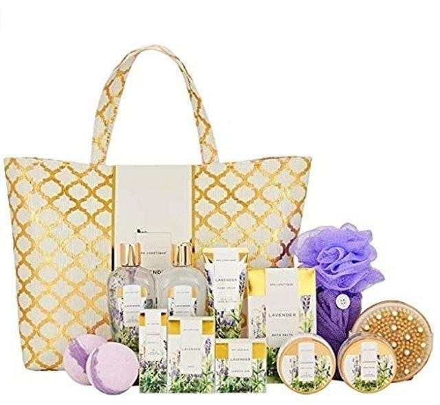 Spa Luxetique Lavender Spa Set 1