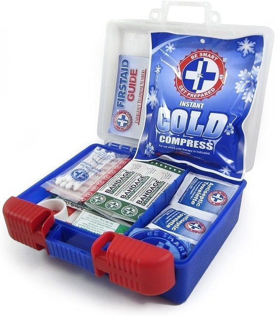 Be Smart Get Prepared 100 Piece First Aid Kit 1