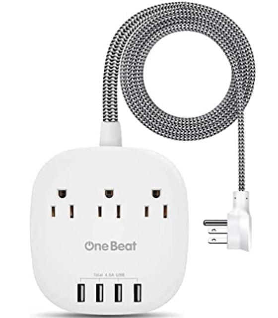 One Beat Desktop Power Strip 1