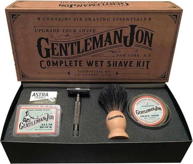 Gentleman Jon Complete Wet Shave Kit 1