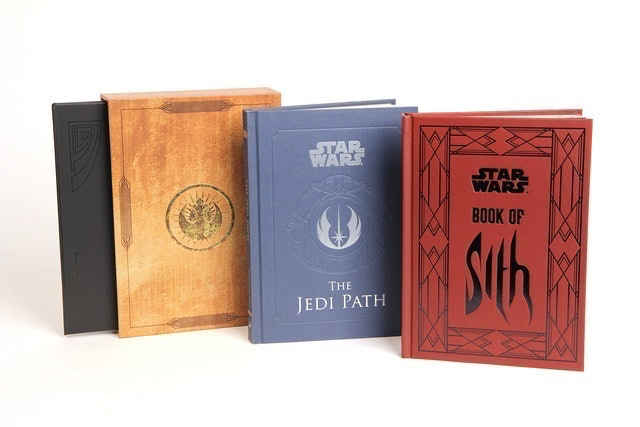Daniel Wallace The Jedi Path and Book of Sith Deluxe Box Set 1