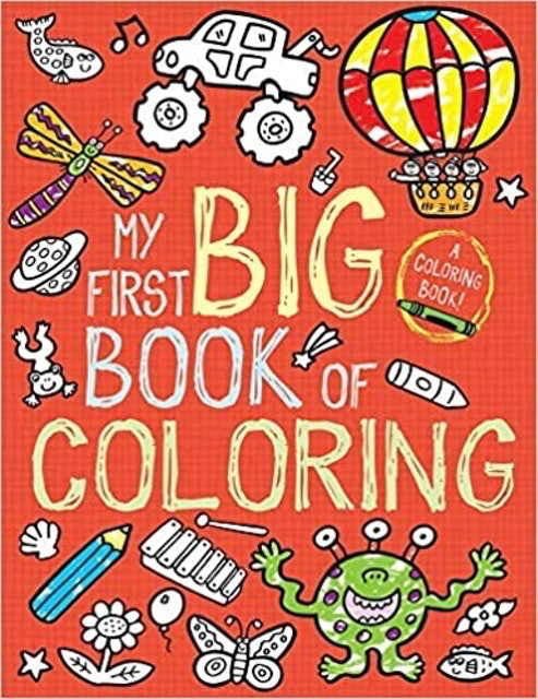 Little Bee Books My First Big Book of Coloring 1