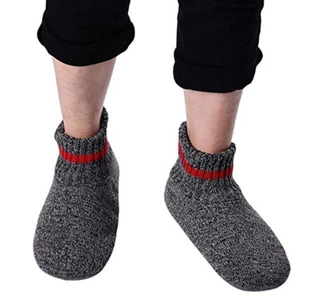 Allbest Men's Slipper Socks   1