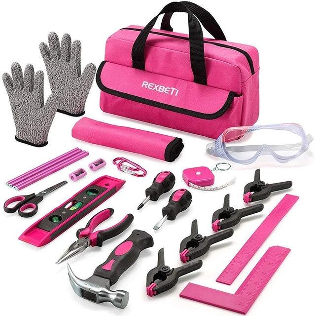 Rexbeti Pink Tool Set 1
