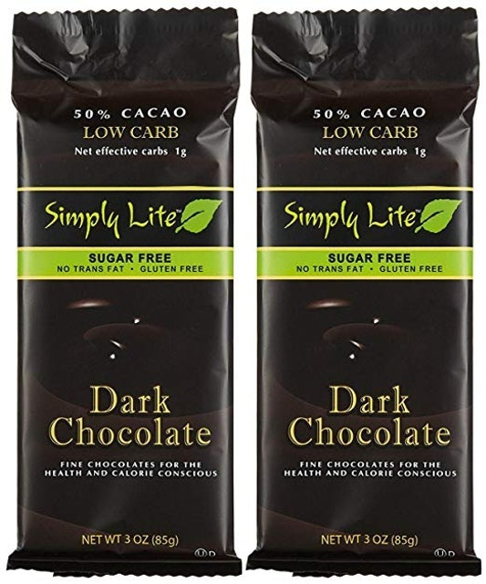Simply Lite Chocolates Sugar Free Dark Chocolate 1