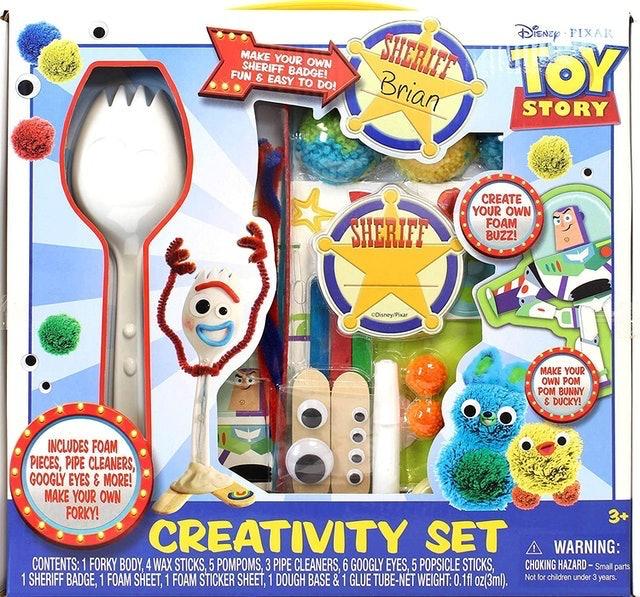 Disney Toy Story 4 Forky Creativity Set 1