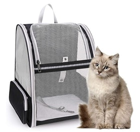 Top 10 Best Cat Backpack Carriers in 2020 (PetAmi, Lollimeow, and More) 4