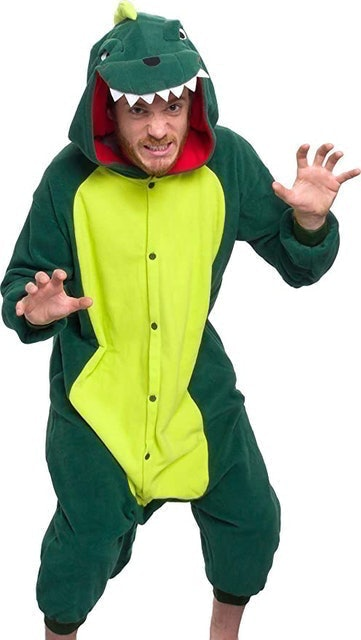 Silver Lilly Dinosaur Costume 1