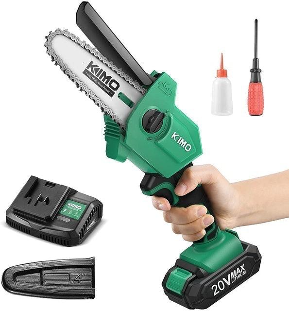 Kimo Cordless Battery Powered Chainsaw 1