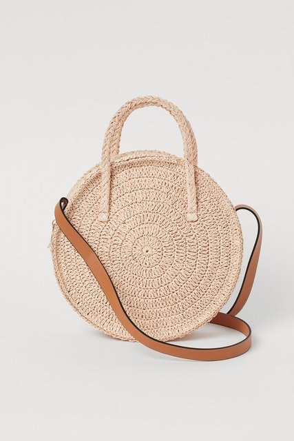 H&M Round Straw Bag 1