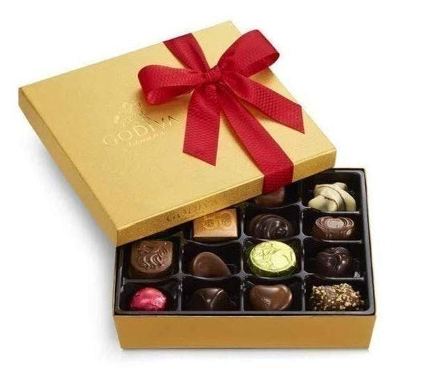 Godiva Assorted Chocolate Gold Gift Box 1