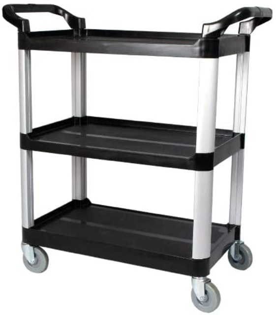 Rolling Bar Carts Olympia Tools Pack-N-Roll Folding Collapsible Service Cart 1