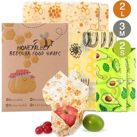 Top 10 Best Beeswax Wraps in 2021 (Bee's Wrap, abeego, and More) 4