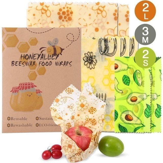 HoneyAlley Beeswax Food Wraps 1