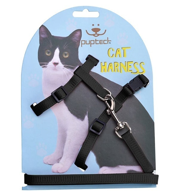 Pupteck Adjustable Cat Harness and Leash 1