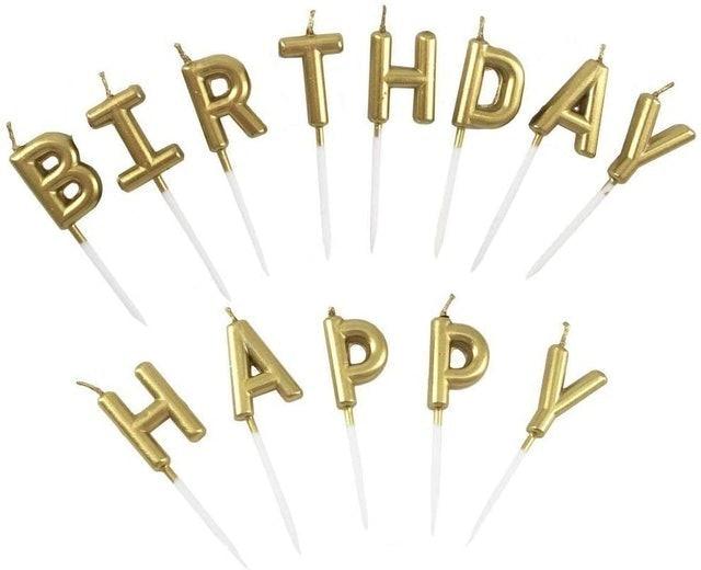 Perfec Happy Birthday Cake Candles 1