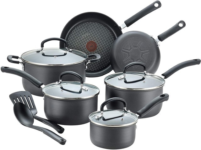 T-fal Ultimate Hard Anodized Nonstick 12 Piece Cookware Set 1