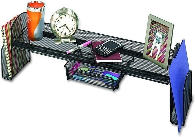 Safco Products Mesh Off-Surface Desk Organizer 1