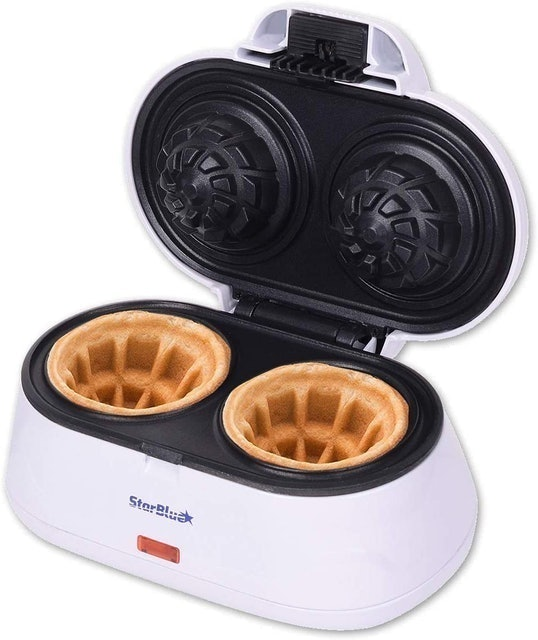 StarBlue Double Waffle Bowl Maker  1