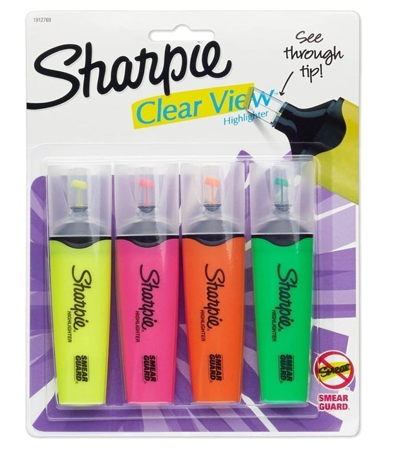 Sharpie Clear View Highlighters 1