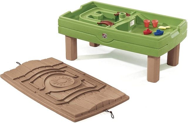Step2 Kids Sand & Water Table With Umbrella 1
