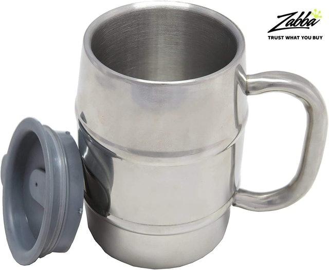 Nuvantee Stainless Steel Mug With Lid 1