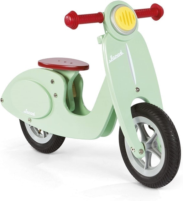 Janod Scooter Mint Balance Bike  1