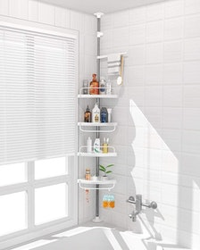 Top 10 Best Corner Shower Caddies in 2021 (simplehuman, iDesign, and More) 3