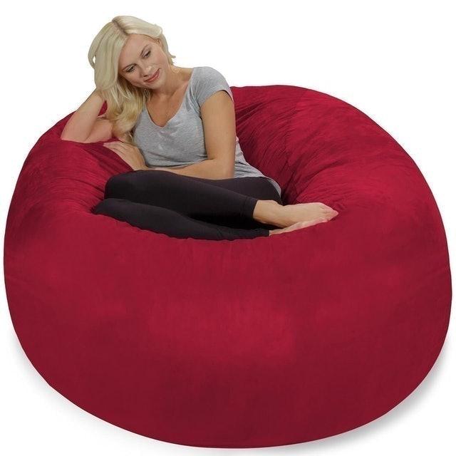 Chill Sack Memory Foam Bean Bag Chair 1
