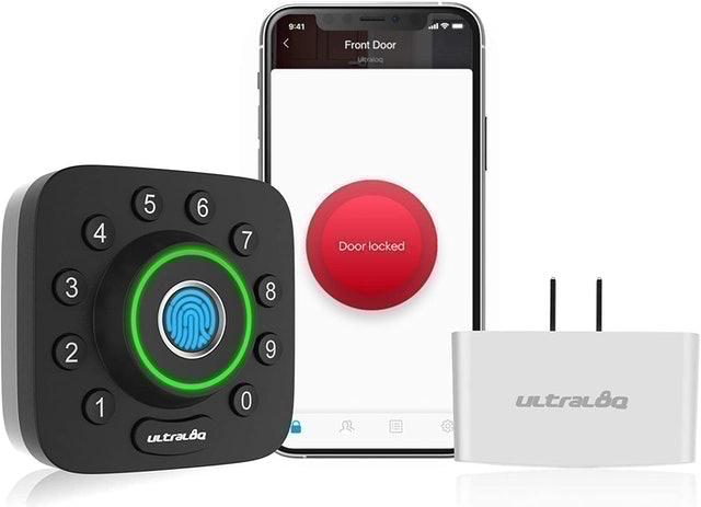 Ultraloq U-Bolt Pro Smart Lock + Bridge Wi-Fi Adaptor 1