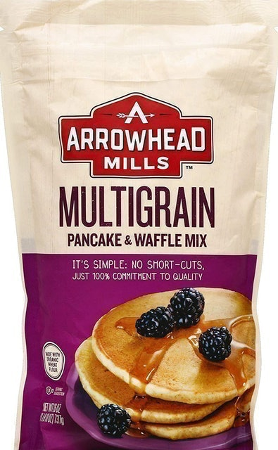Arrowhead Mills Multigrain Pancake & Waffle Mix 1