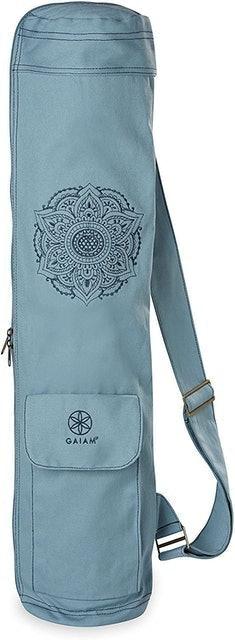 Gaiam Full-Zip Cargo Yoga Mat Bag 1