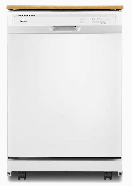 Whirlpool White Portable Dishwasher 1