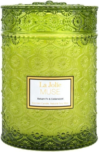 La Jolie Muse Natural Soy Wax Scented Candle 1