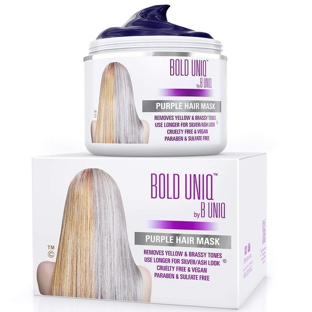 Bold Uniq Purple Hair Mask 1