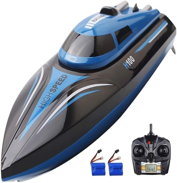 SZJJX Remote Control Electric Racing Boat 1