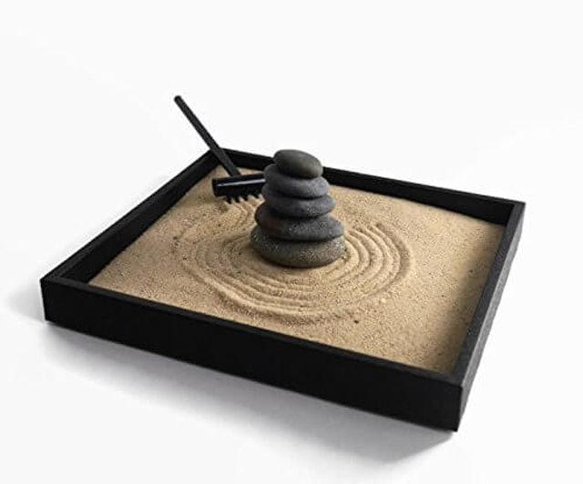 Paintspiration Handmade Natural Mini Zen Garden Kit 1