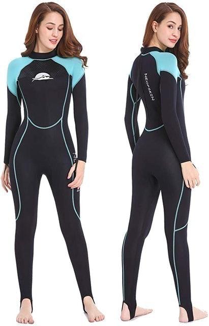 Neopskin Neoprene Wetsuit for Women in Cold Water 1