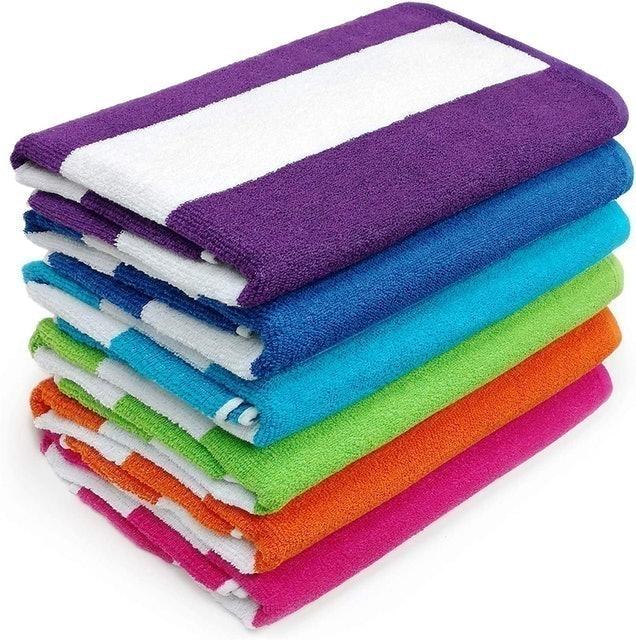 Kaufman Cabana Terry Loop Towel  1