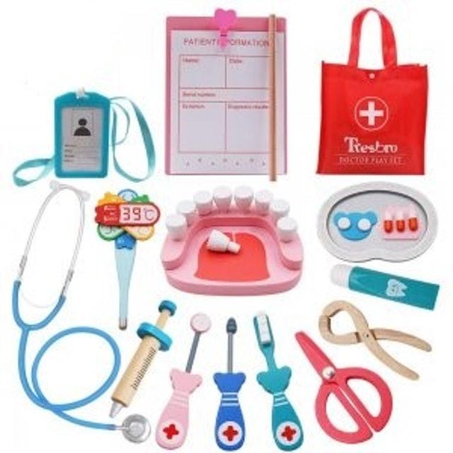 Tresbro Wooden Dentist Tool Toys 1