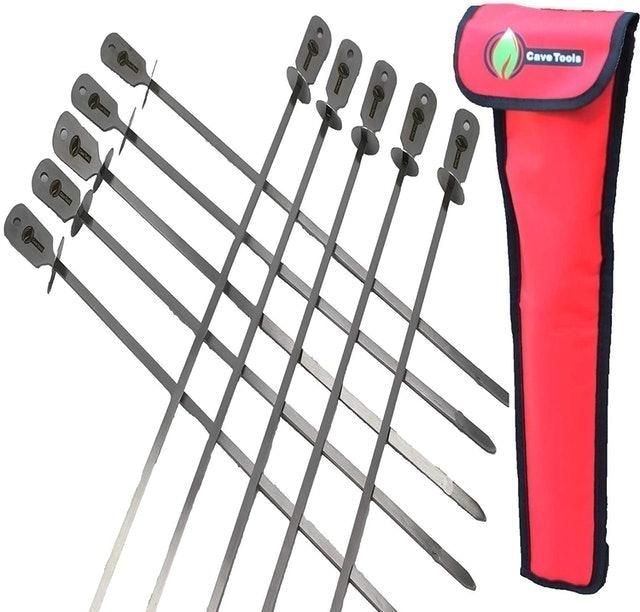 Cave Tools BBQ Skewers Set 1