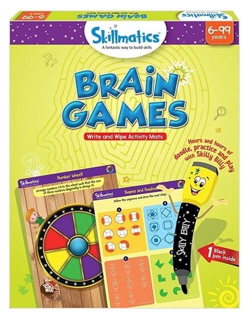 Skillmatics Brain Games 1