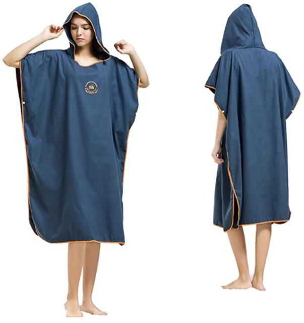 Hiturbo Microfiber Surf Beach Wetsuit Changing Towel 1