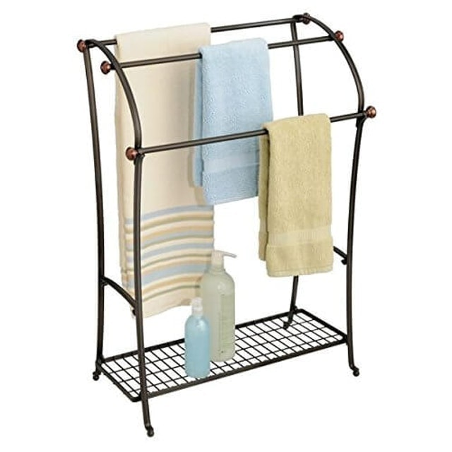 mDesign MetroDecor Towel Rack 1