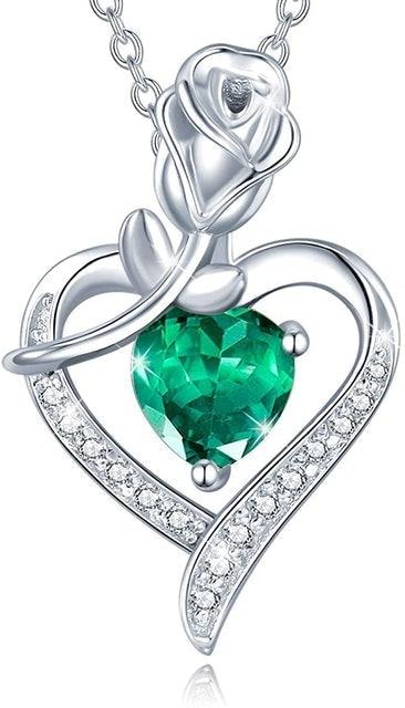 Valentine's Day Necklaces Agvana Birthstone Necklace 1