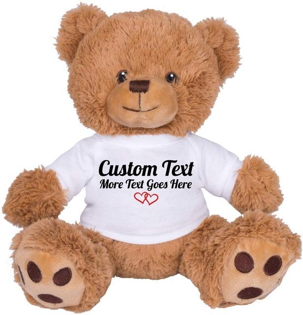TEESANDTANKYOU Cute Custom Teddy Bear 1