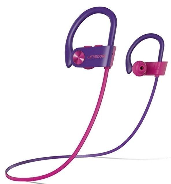 Letscom Waterproof Bluetooth Headphones  1