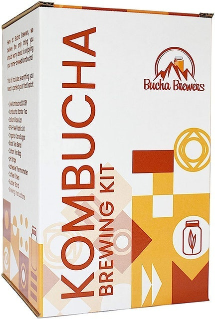 Bucha Brewers Kombucha Brewing Kit 1