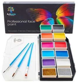 Top 10 Best Face Paint Kits in 2020 (CCBeauty, Mehron, and More) 3